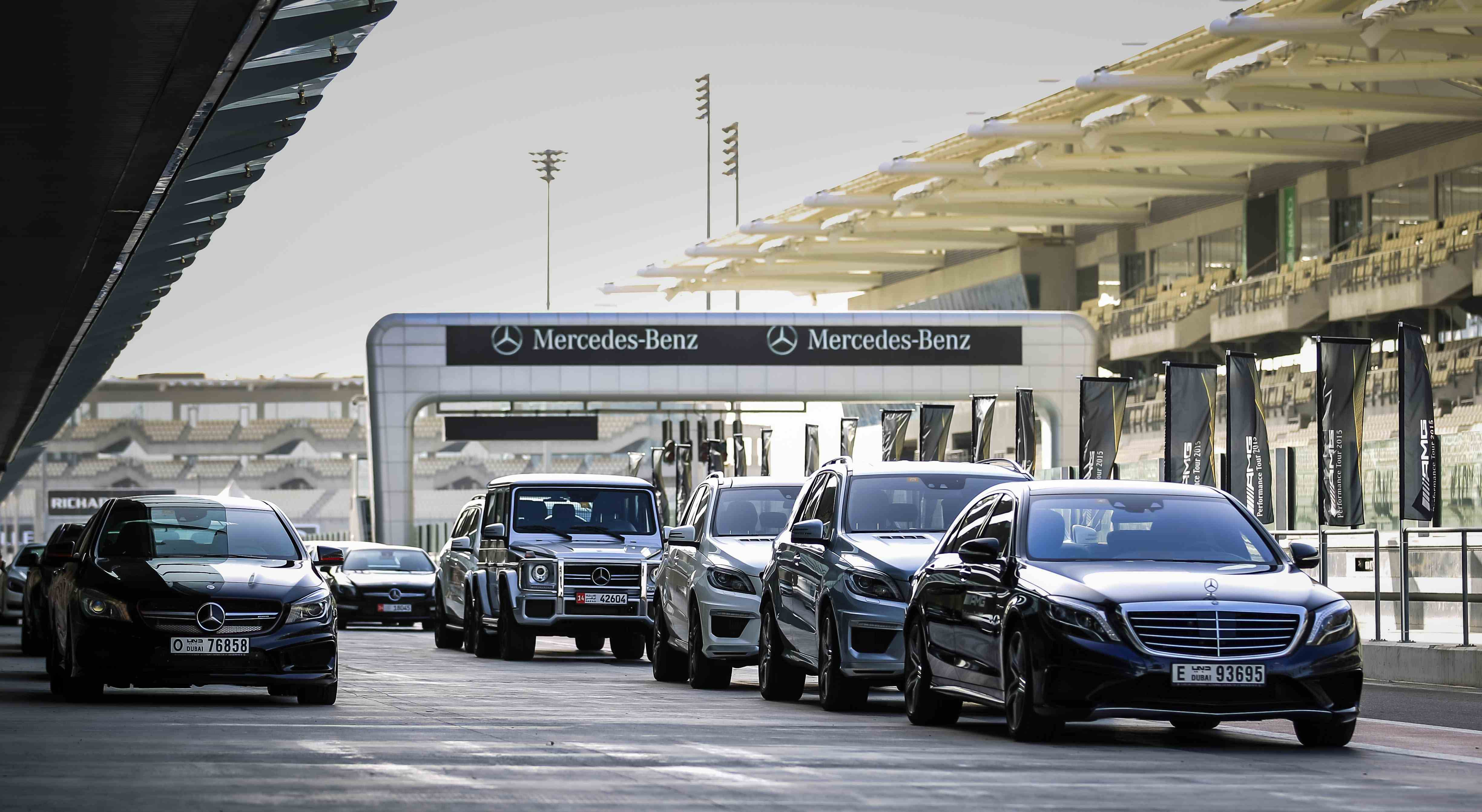 AMG Performance Tour 2015 driving experience