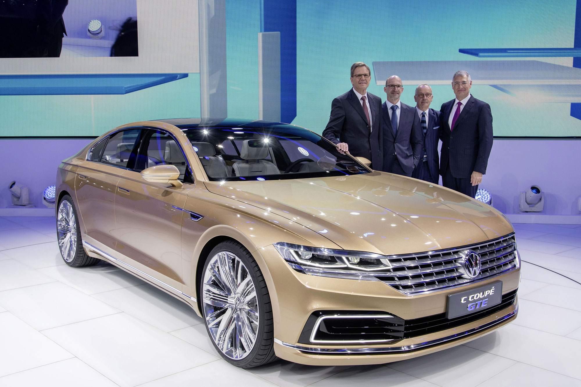 AutoChina Shanghai 2015 Volkswagen Pressekonferenz 20 April 2015