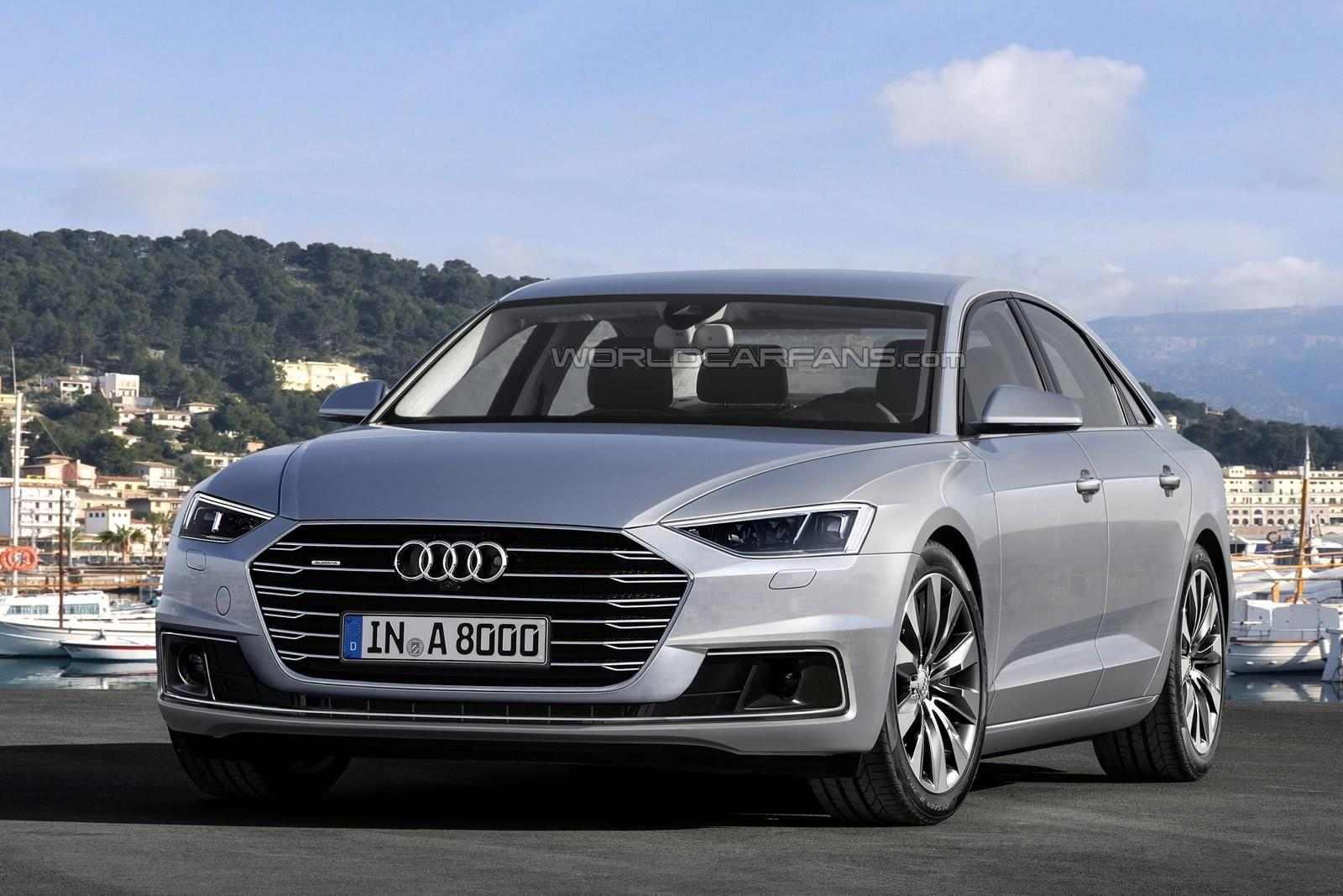 New Audi A8 render
