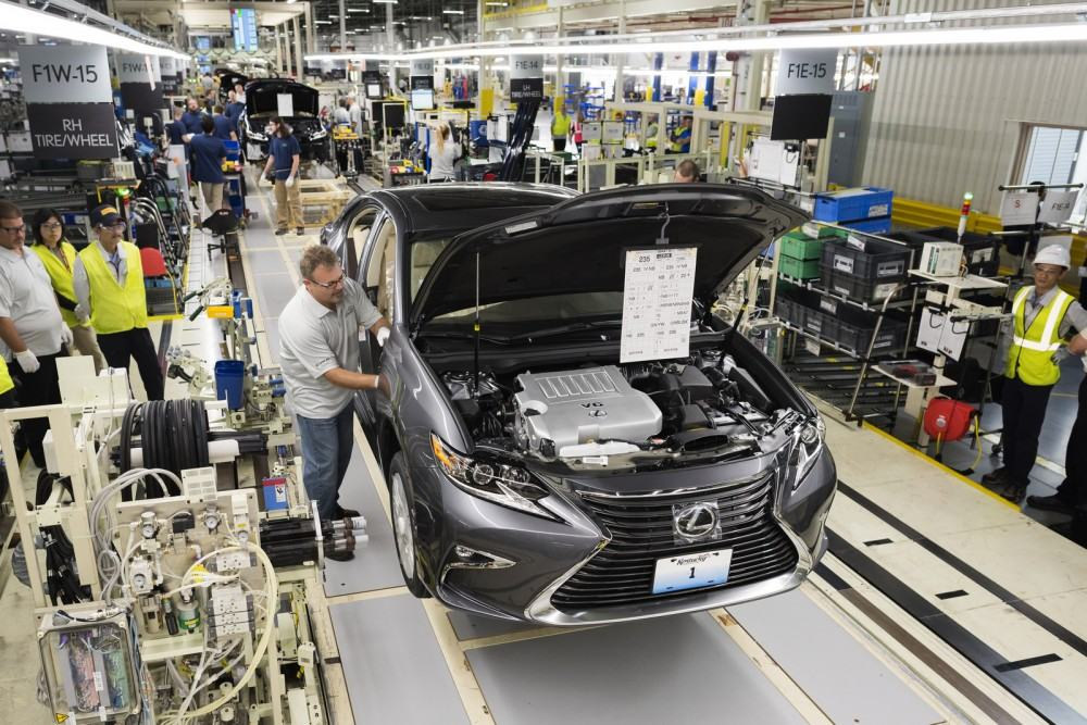 Lexus Plant in Georgetown, Kentucky, USAMonday October 5, 2015Photo by Joseph Rey Au