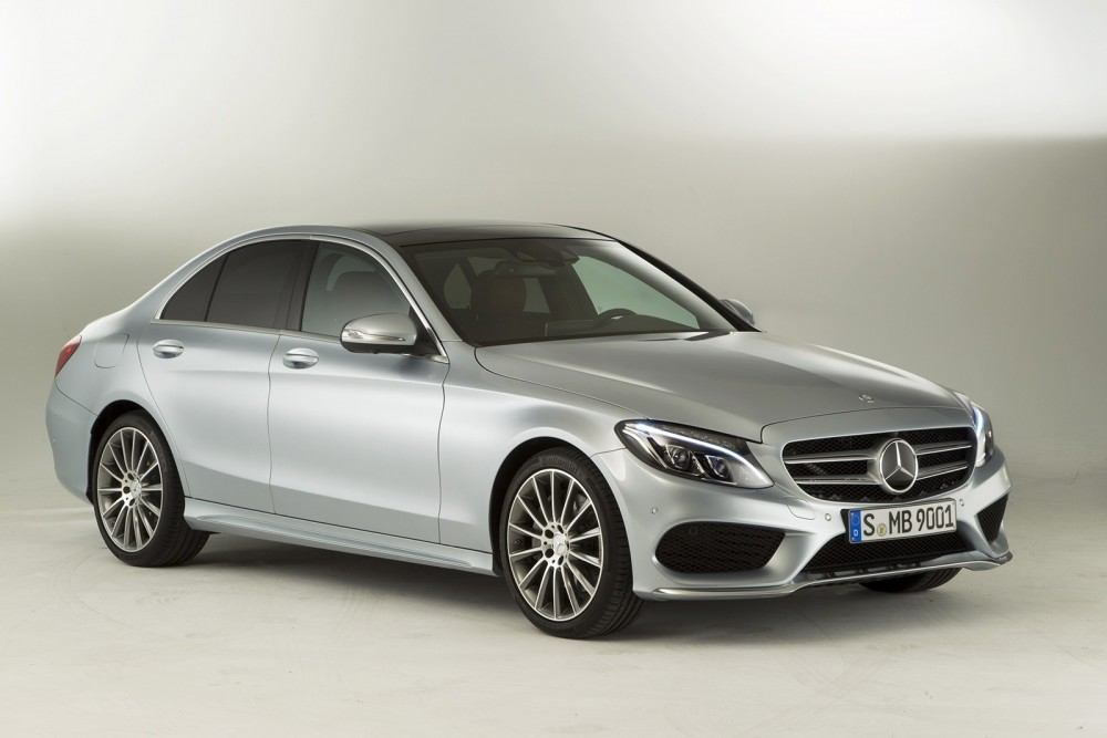 Image with 2015 Mercedes Benz C Class front
