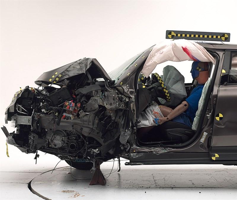Fiat 500x Crash test 2