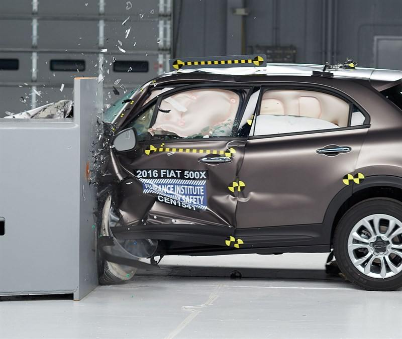 Fiat 500x Crash test