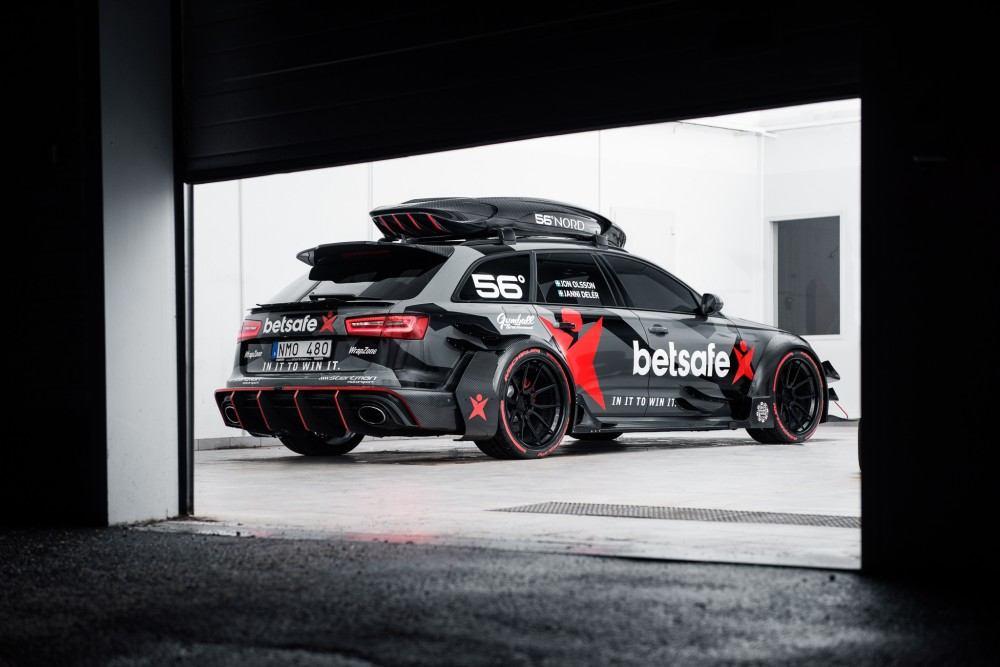 Jon Olsson's Former Audi RS6 before