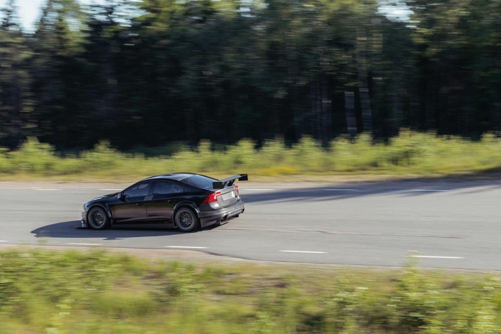 Volvo S60 Polestar for racing 4