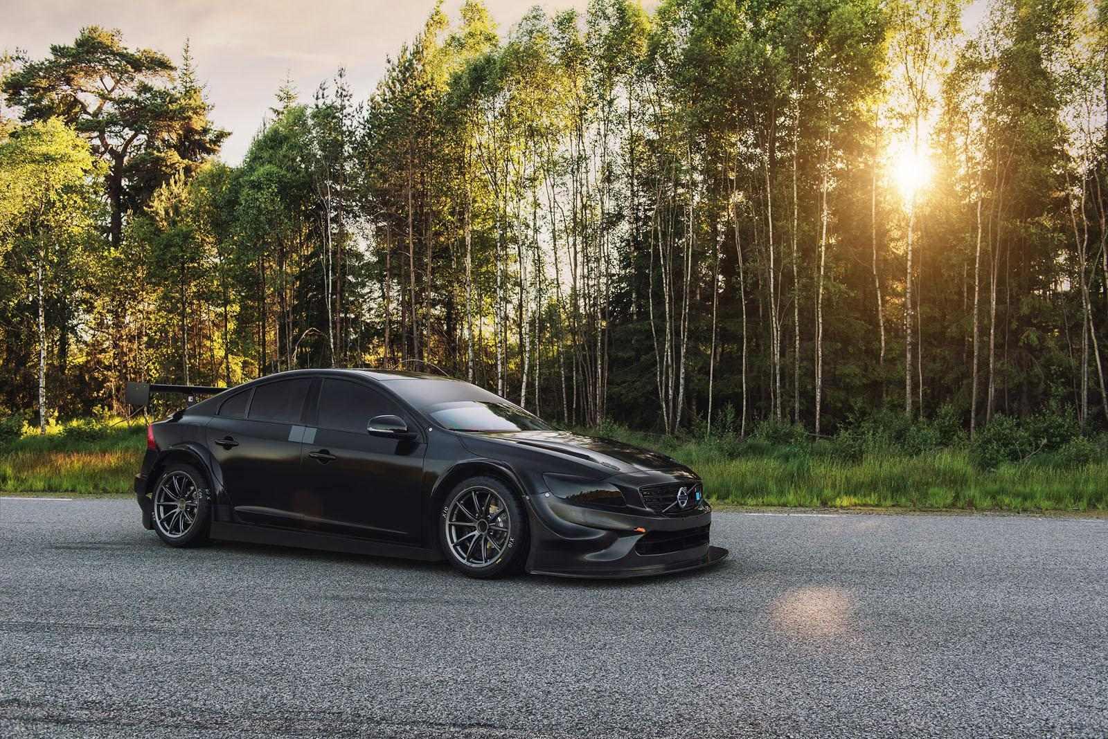 Volvo S60 Polestar for racing