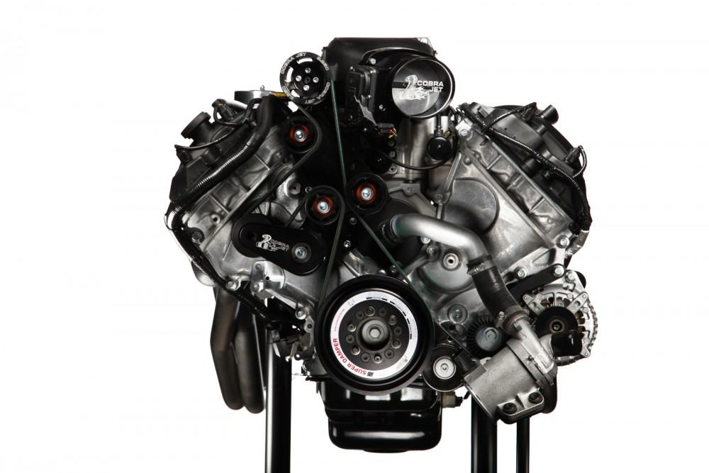 2016 Cobra Jet Mustang Engine