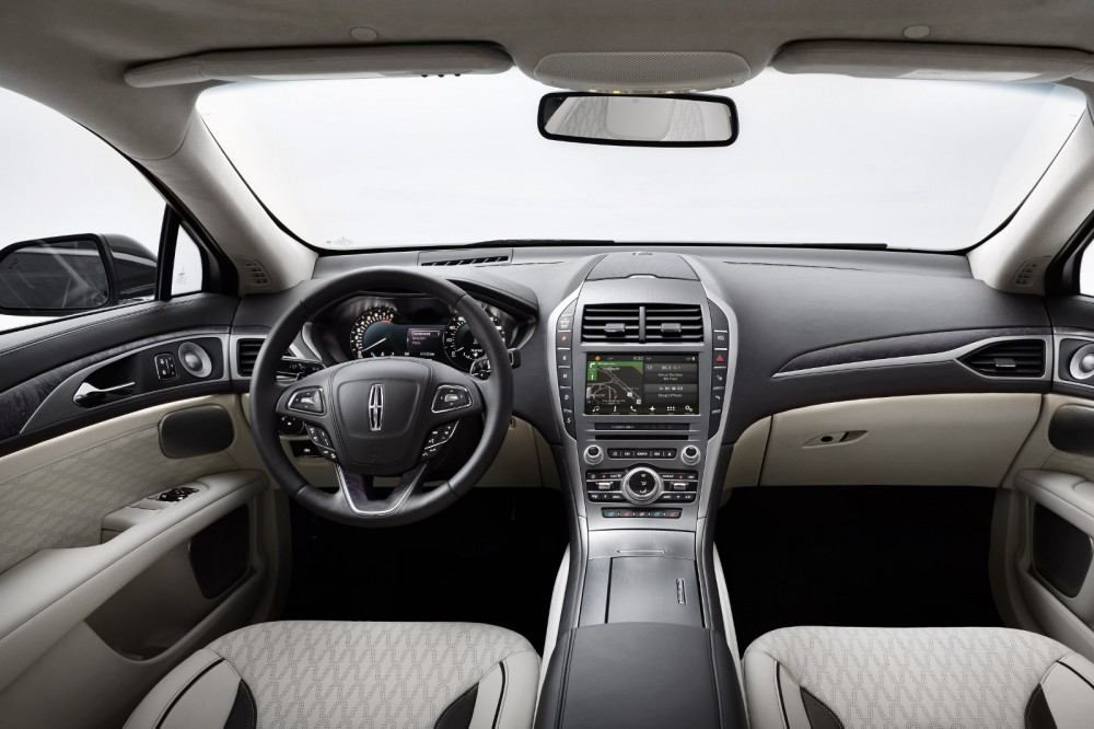 Intuitive technologies including available adaptive cruise control with stop-and-go, auto hold, Pre-Collision Assist with Pedestrian Detection and enhanced park assist help ease the new Lincoln MKZ driving experience.