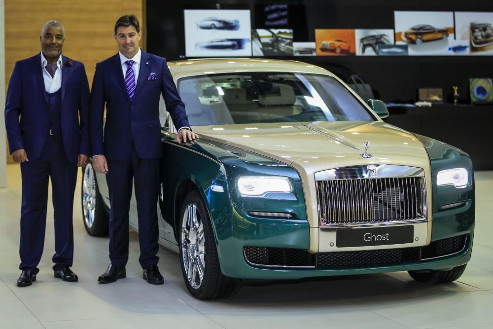 2015 Rolls-Royce Ghost Gold Edition Dubai 1