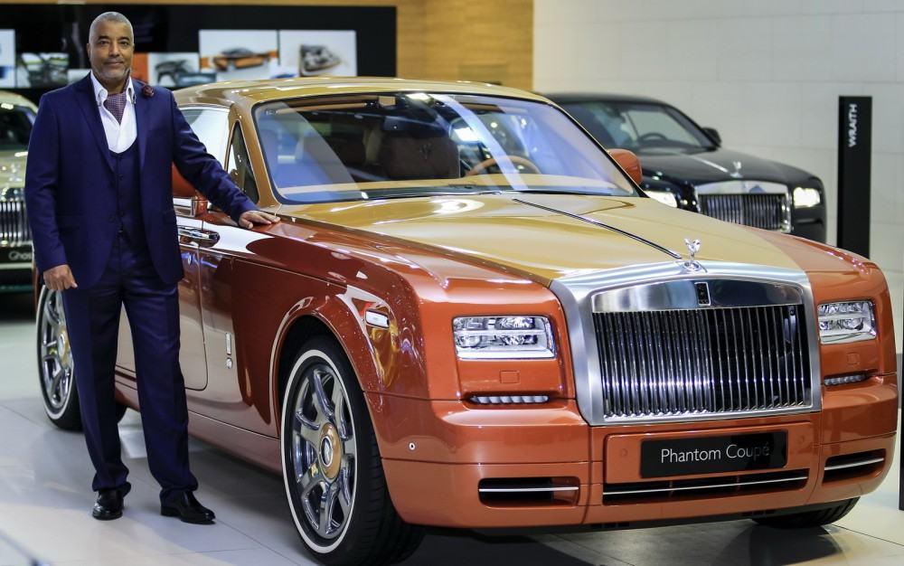 2015 Rolls-Royce Phantom Coupe Tiger Dubai 1