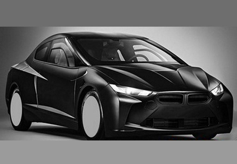 BMW research car