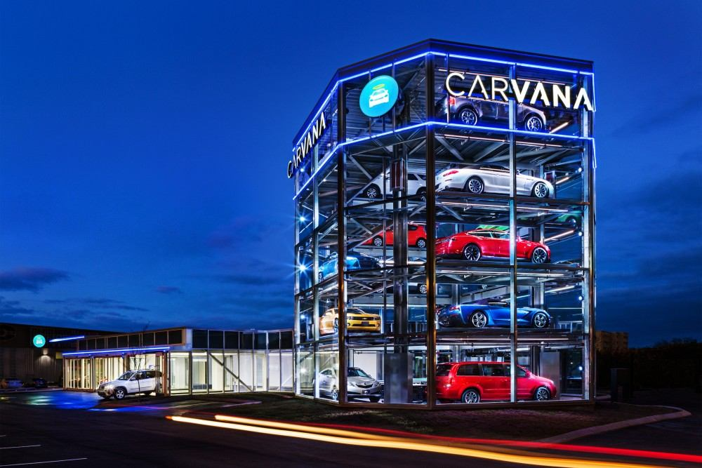 Carvana vending machine 5