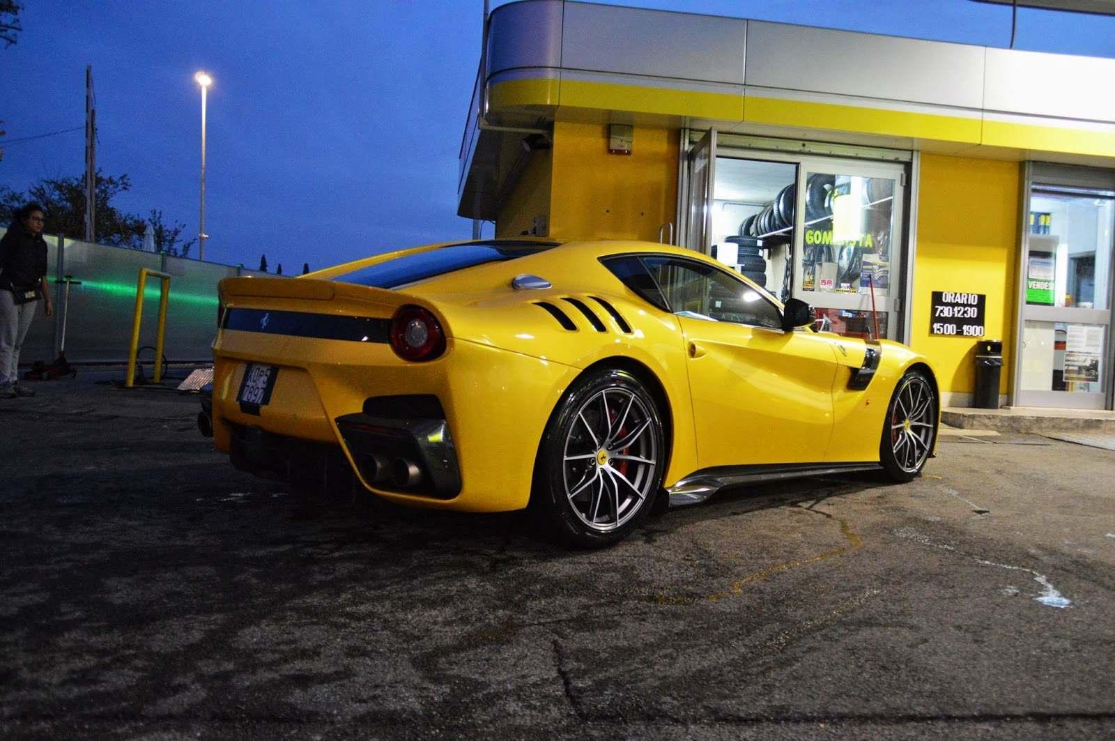 Ferrari F12tdf gas station 1