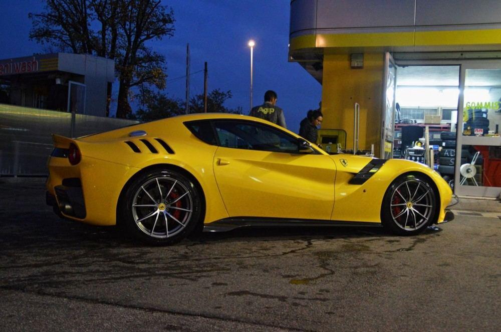Ferrari F12tdf gas station 3