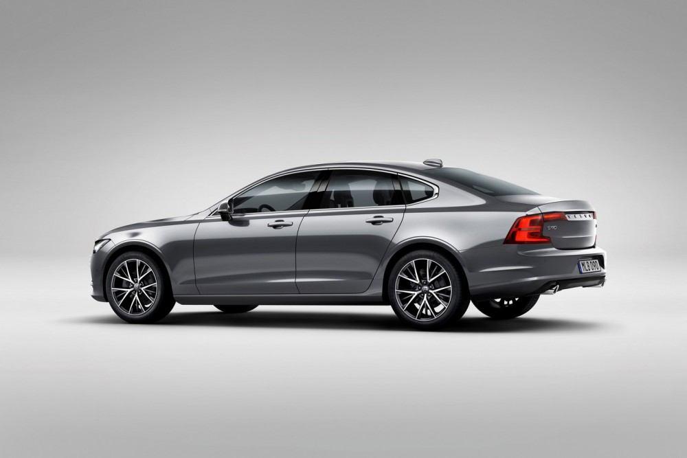 Rear Quarter Volvo S90 Osmium Grey