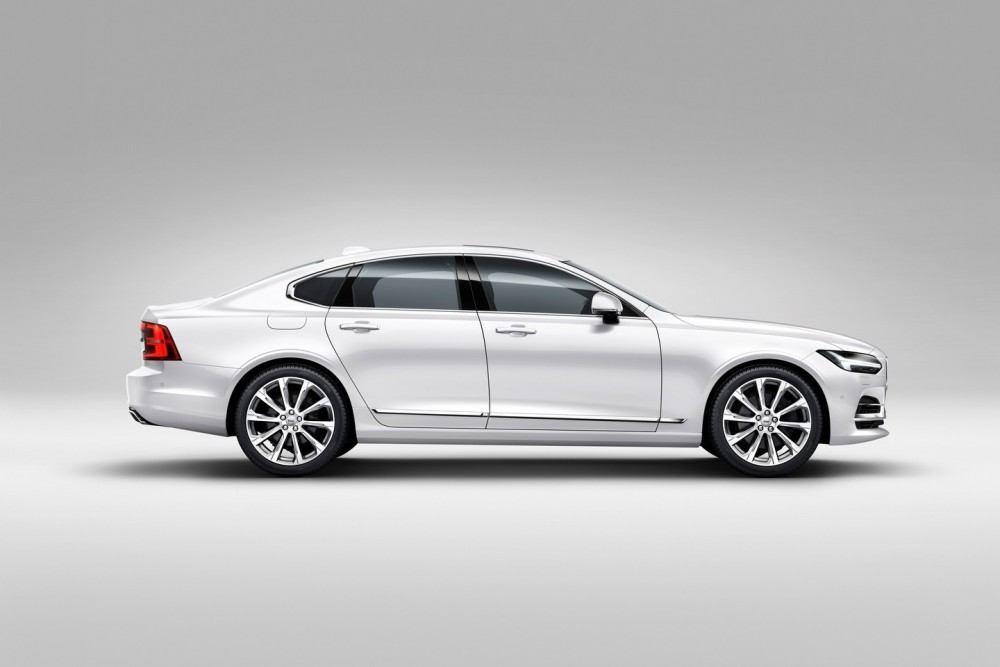 Profile Right Volvo S90 White