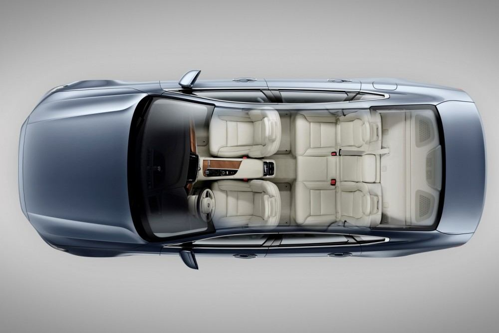 Birds Eye Seats Volvo S90 Mussel Blue 4