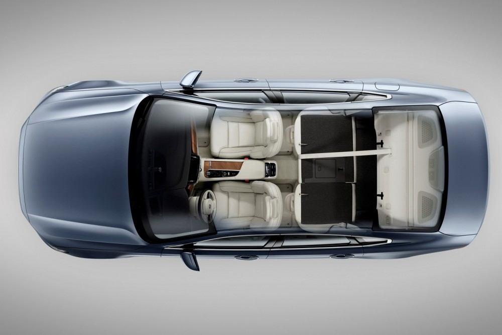 Birds Eye Seats Volvo S90 Mussel Blue 3