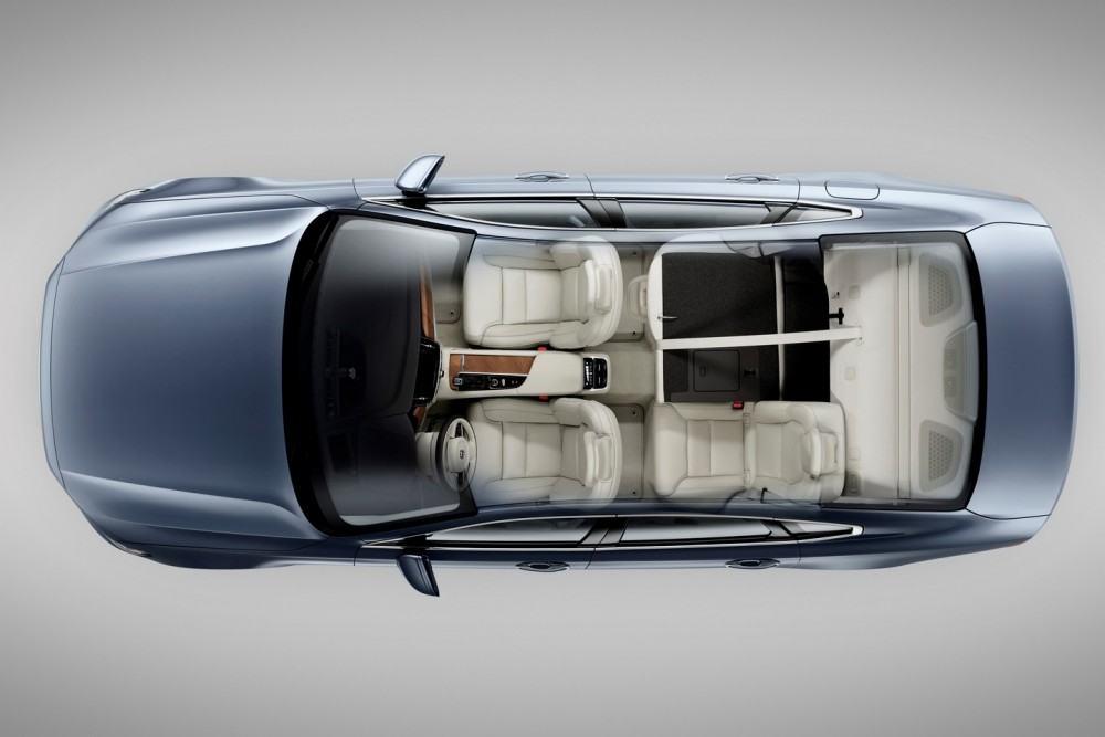 Birds Eye Seats Volvo S90 Mussel Blue 1