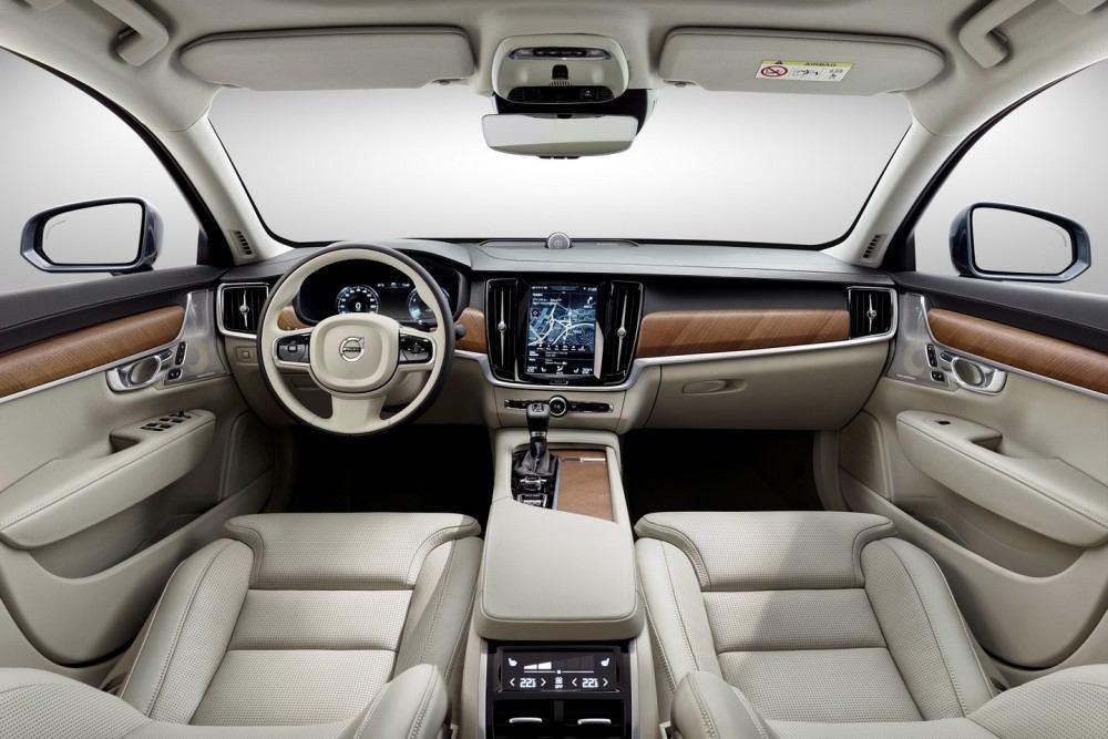 Interior Blond Volvo S90