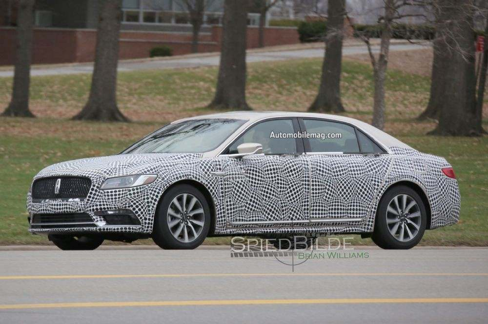 2017-lincoln-continental-spied-front-three-quarter