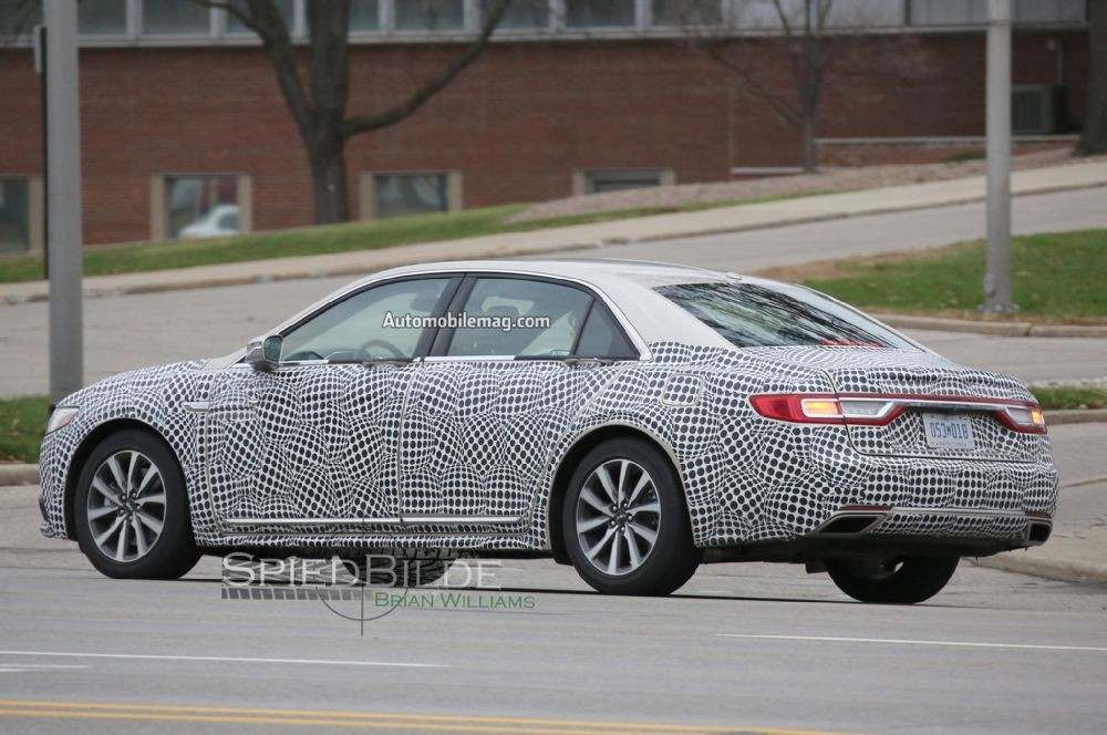 2017-lincoln-continental-spied-rear-three-quarter