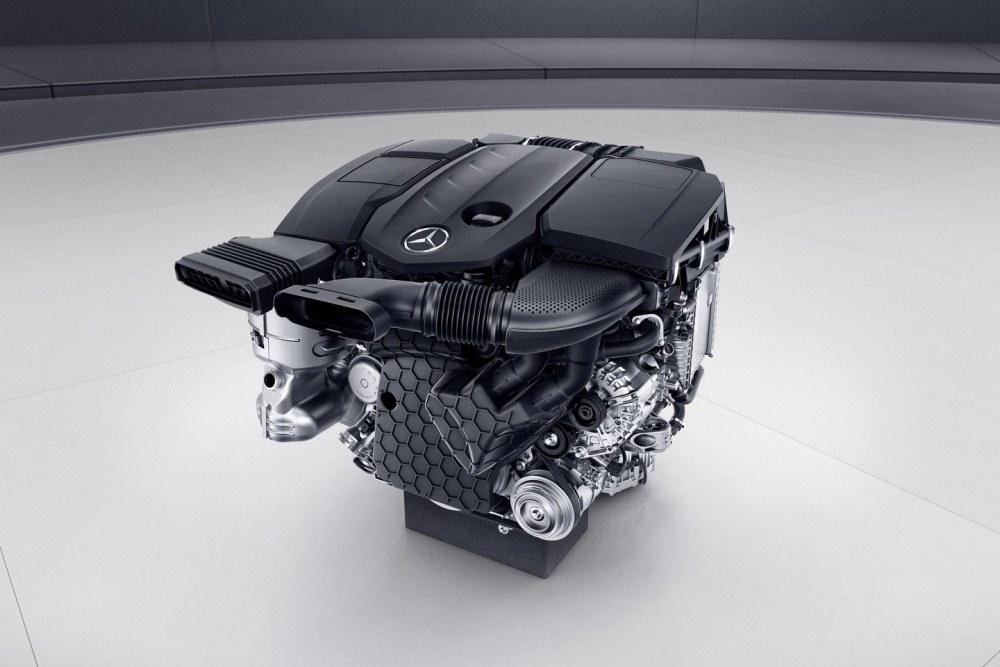 Mercedes-Benz Vierzylinder Premium-Diesel, OM 654, 2016 Mercedes-Benz four cylinder premium diesel, OM 654, 2016