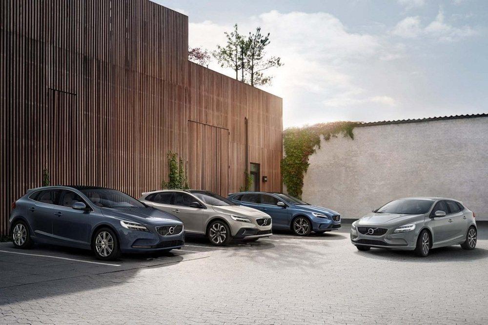 Volvo V40 Momentum, Inscription, Cross Country and R-design Location