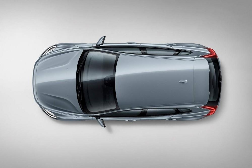 Volvo V40 T4 Momentum Studio Bird's Eye view