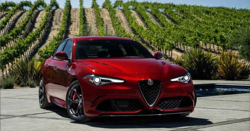 Alfa Romeo Giulia Production