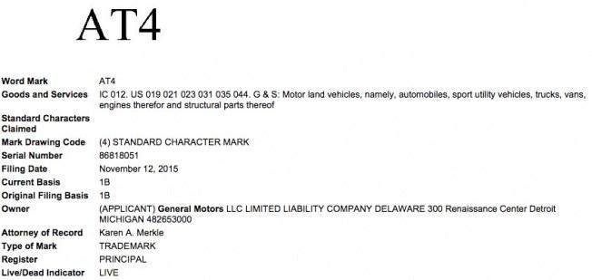 General-Motors-AT4-Trademark-Filing-USPOT