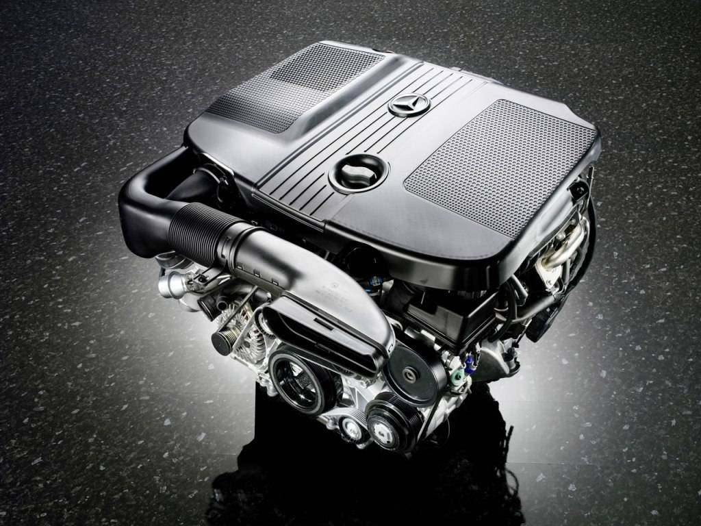 Mercedes Diesel Engine