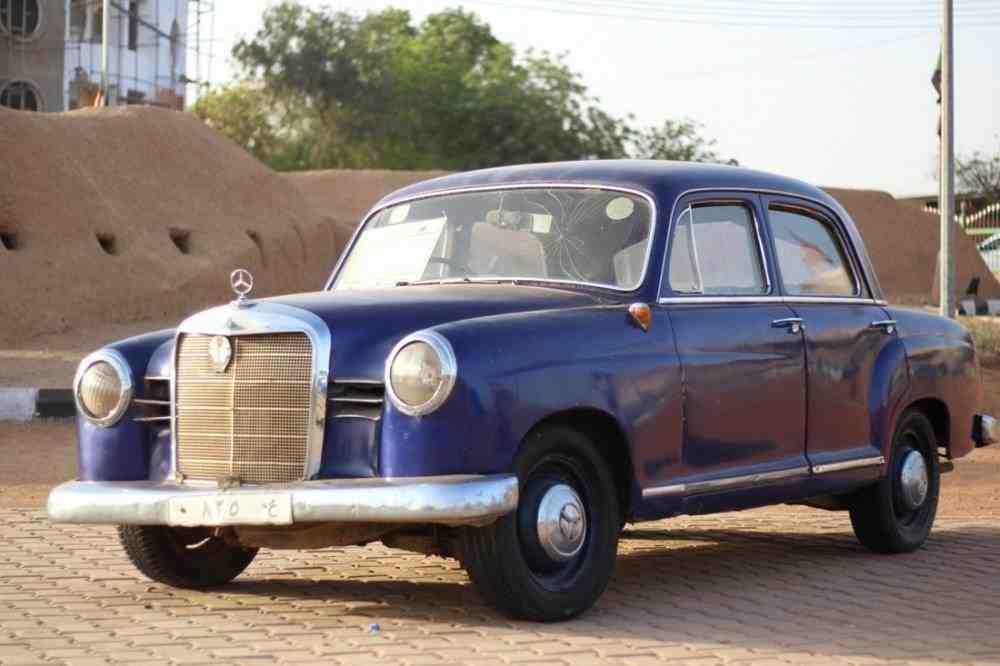 مرسيدس W120 بنطون موديل 1956