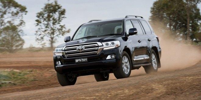 2015 Toyota Land Cruiser Facelift