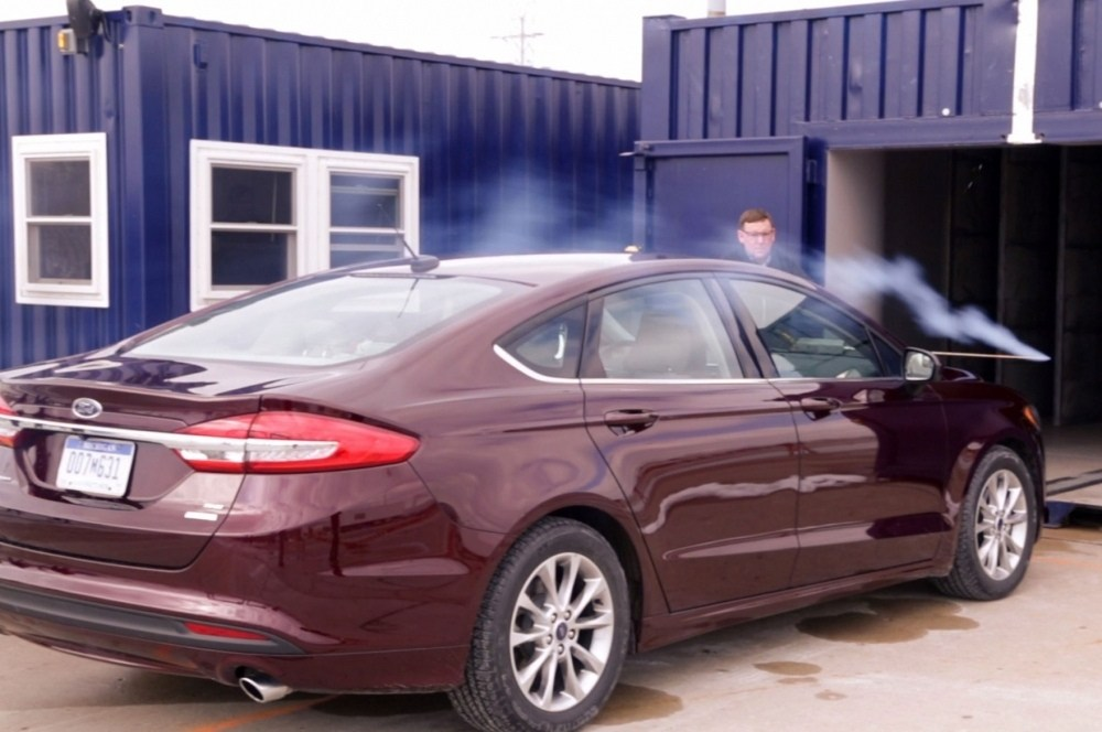 Ford-Fusion-testing-portable-wind-tunnel-2