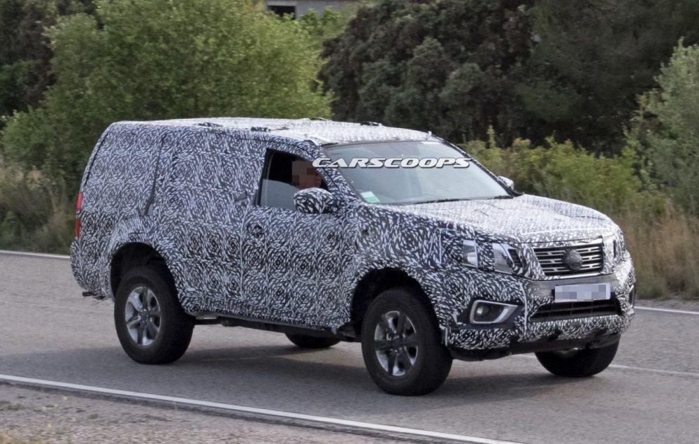 نيسان تبدأ في اختبار SUV جديدة مبنية على أساس نافارا