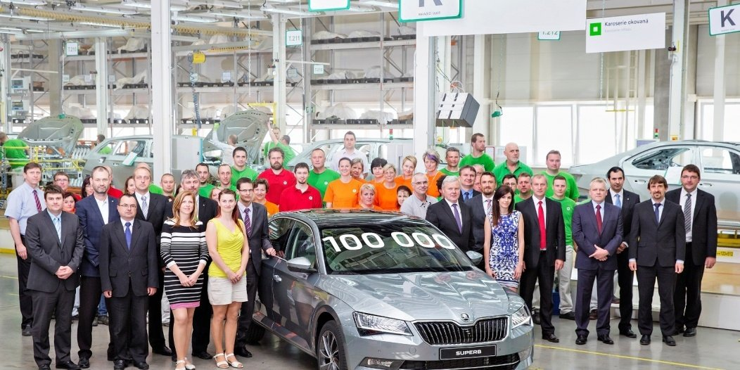 skoda-has-produced-100000-units-of-the-third-generation-superb