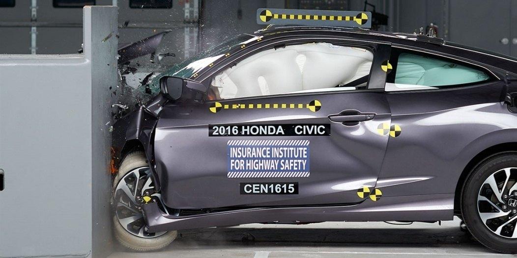 2016 Honda Civic IIHS rating 1