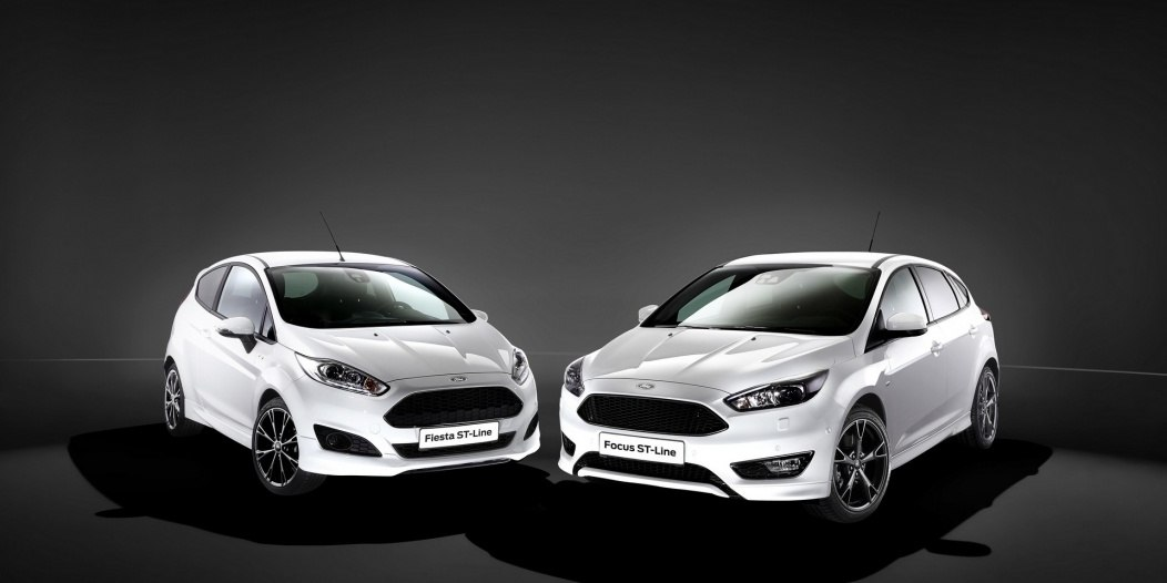 Ford Launches Sporty New ST-Line: Fiesta ST-Line and Focus ST-Li