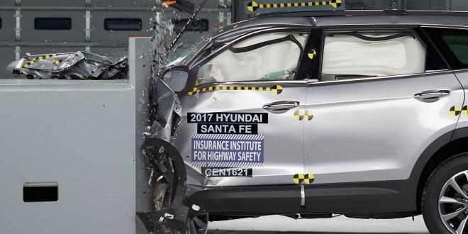 2017 Hyundai Santa Fe IIHS Rating 1