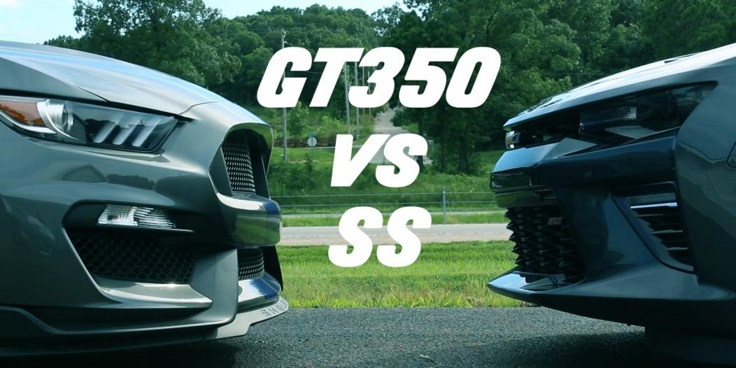 camaro vs gt350