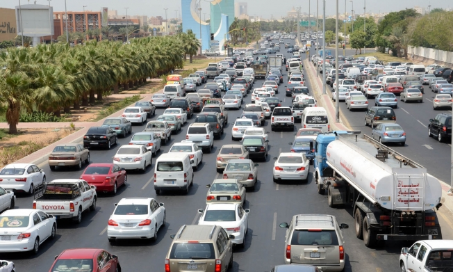 الرياض في المرتبة 50 عالمياً في الإزدحام المروري, وجدّة بالمرتبة 84