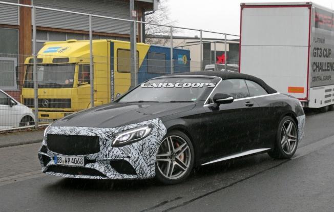 مرسيدس تأخذ S63 AMG كابريو المحدّثة إلى حلبة نوربرجرنج