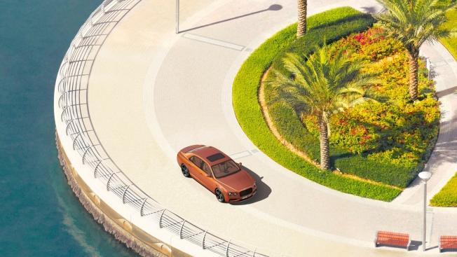 بنتلي تصور فلاينج سبير W12 بدقة 57.7 مليار بكسل في دبي!