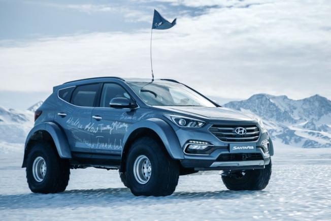 هيونداي تبني سانتافي خصيصاً لتحقيق حلم عبور القطب الشمالي