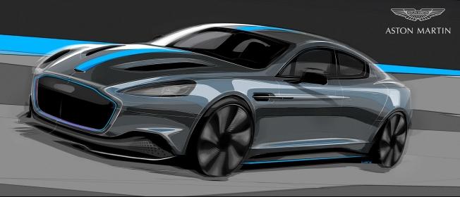 أستون مارتن تؤكد إنتاج رابيد E كنسخة محدودة في 2019