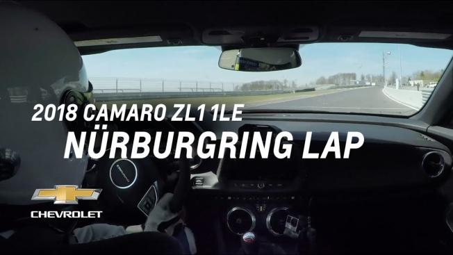 شيفروليه تكشف عن التوقيت الرسمي لـ كمارو ZL1 1LE حول حلبة نوربرجرنج