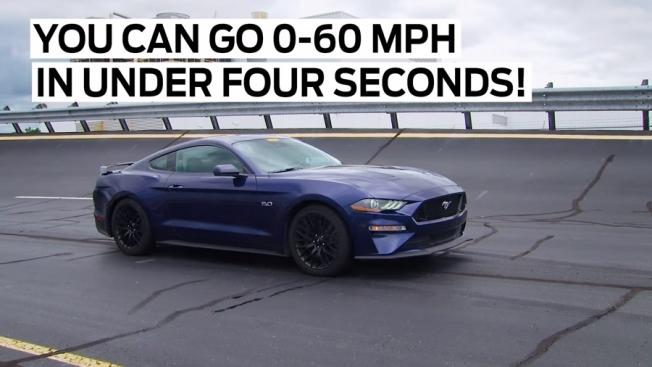 فورد موستانج GT 2018 تتسارع من 0 الى 96 كم/س في أقل من 4 ثواني!