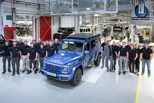 مرسيدس بإنتاج 300 ألف سيارة من G-Class بعد 38 عاماً من إطلاقها