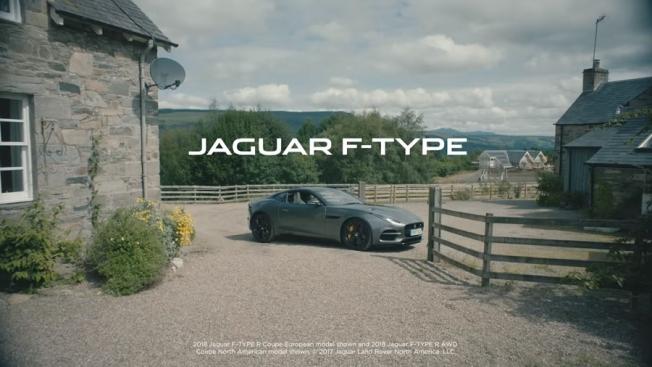 جاكوار F-Type تعيد الحياة الى مدينة مملة في فيديو طريف